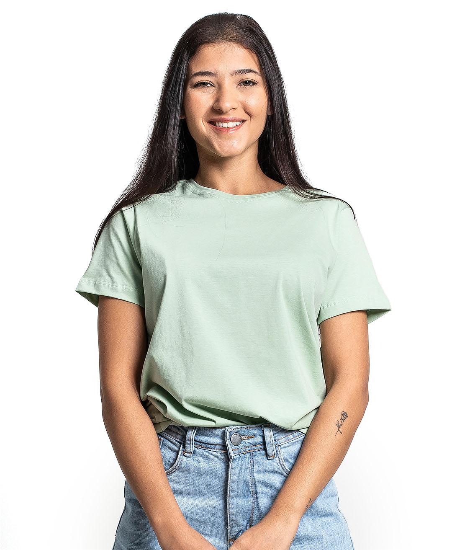 Camiseta Premium Next Edition Algodão PIMA Verde Claro - Tflow