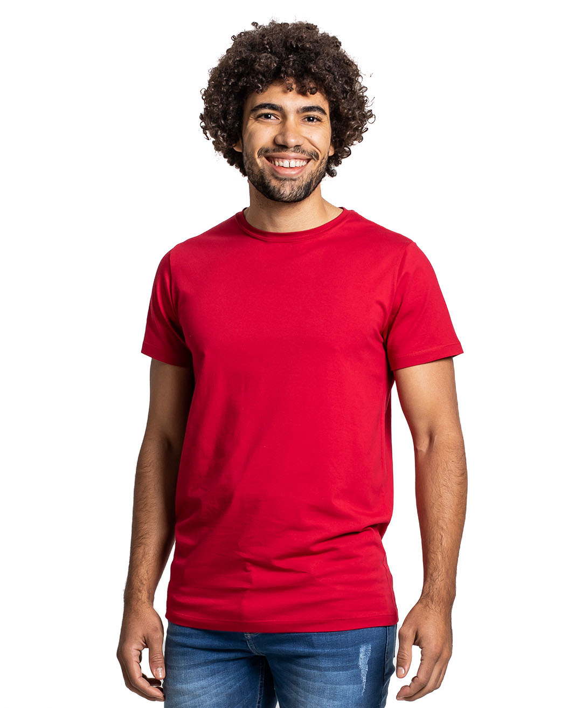 Camiseta Premium Next Edition Algodão PIMA Vermelha - Tflow