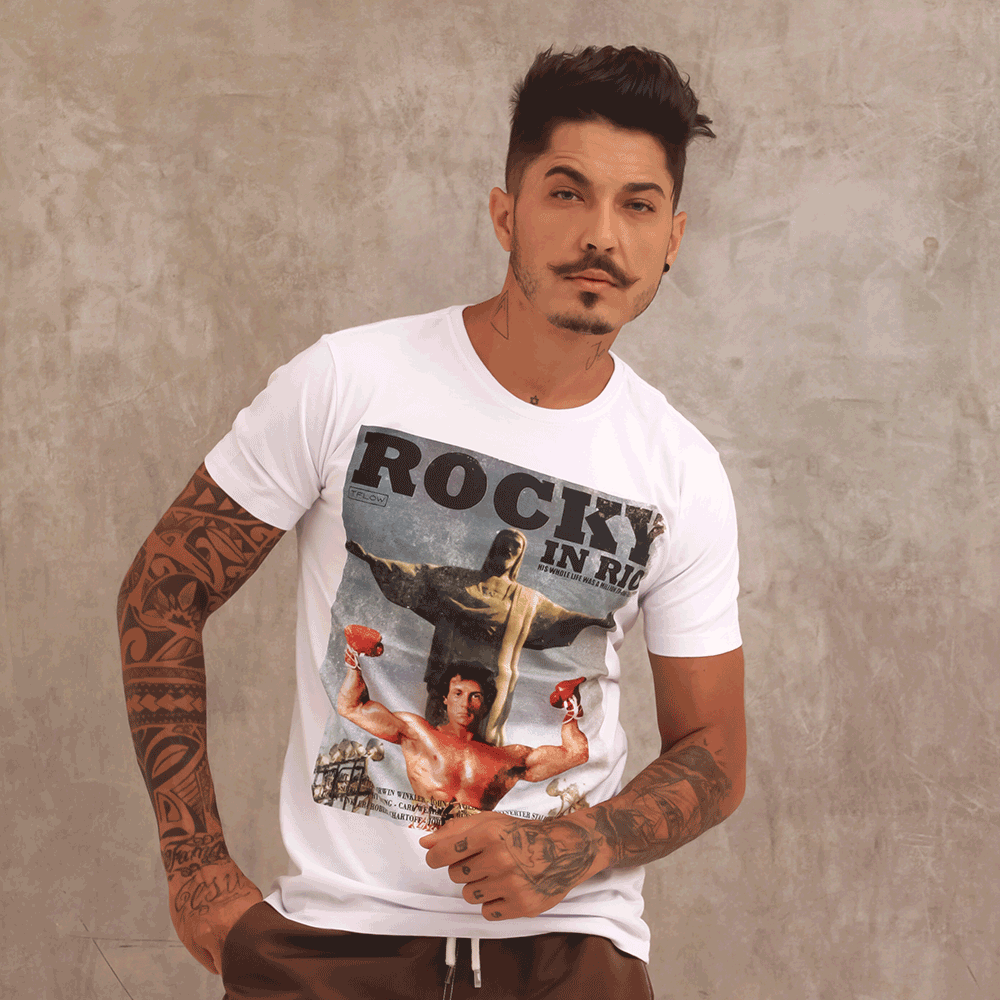 CAMISETA ROCK IN RIO - TFLOW
