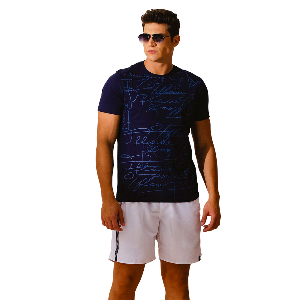 CAMISETA SIGNATURE MARINHO - TFLOW