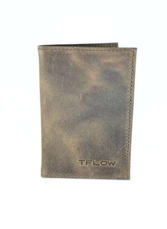 CARTEIRA TFLOW POCKET - MARROM - TFLOW