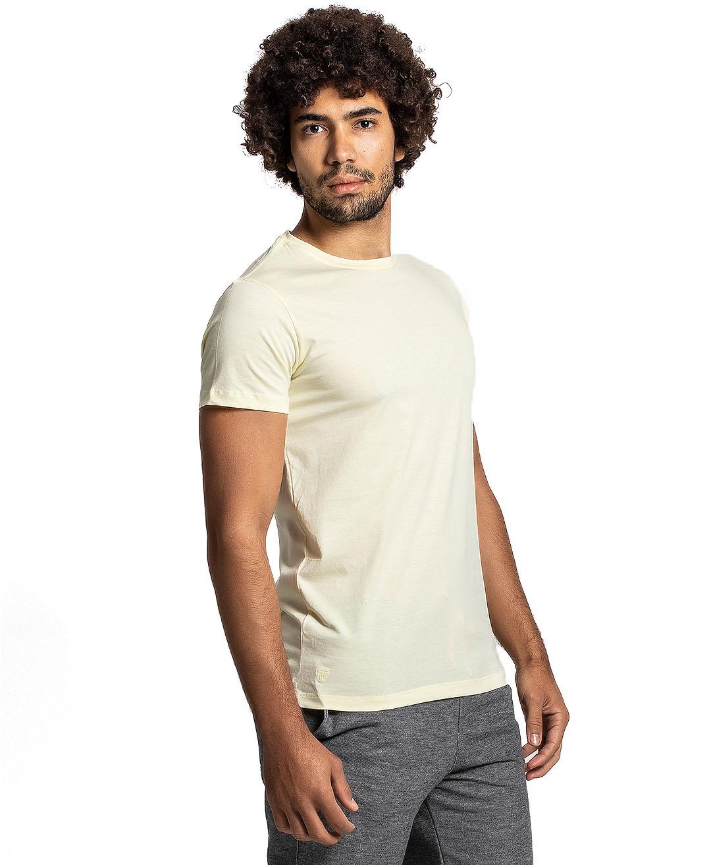 Camiseta Premium Next Edition Algodão PIMA Amarela- Tflow