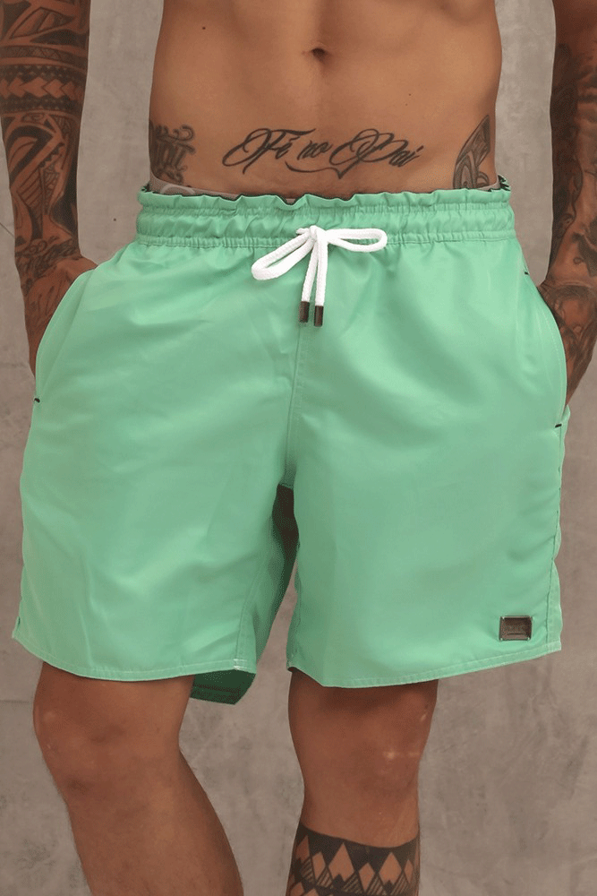 SHORT CLÁSSICO WATER GREEN - TFLOW
