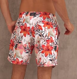 SHORT FLOWER FLORAL - TFLOW