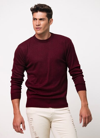 SUETER BASIC - BORDO