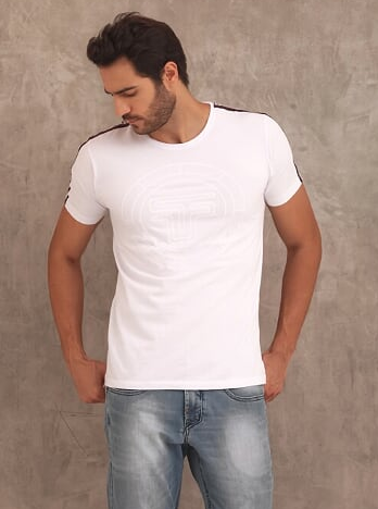 CAMISETA T-SHIRT TF SPORT - BRANCO - TFLOW