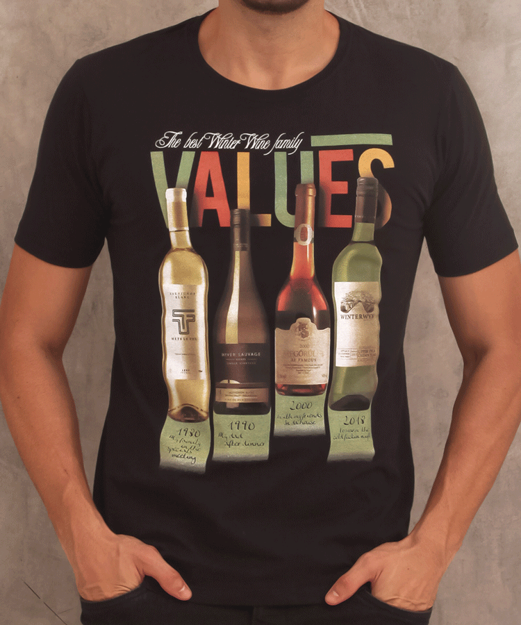 CAMISETA VALUES - TFLOW