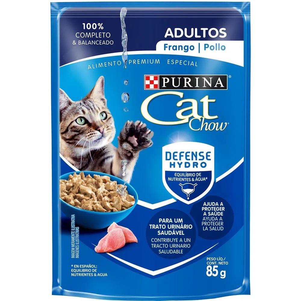 Alimento Úmido Cat Chow Adultos Frango 85g