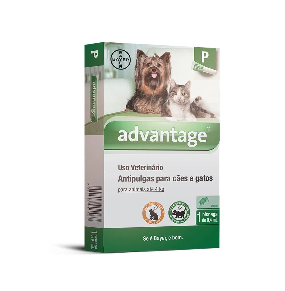 Antipulgas Advantage para Cães e Gatos