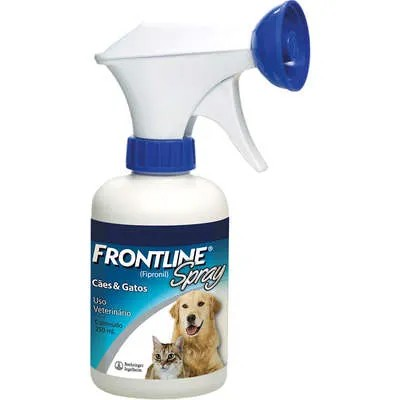 Antipulgas e Carrapatos Frontline Spray 250 mL para Cães e Gatos