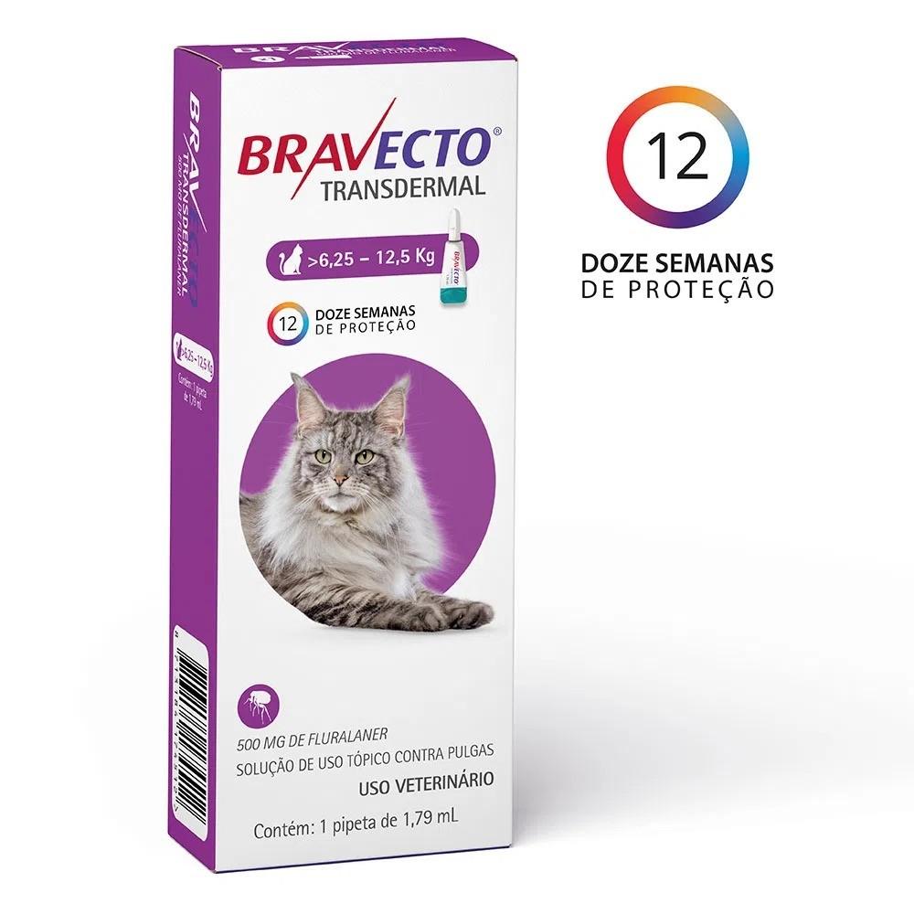 Antipulgas Transdermal para Gatos de 6,3 a 12,5kg