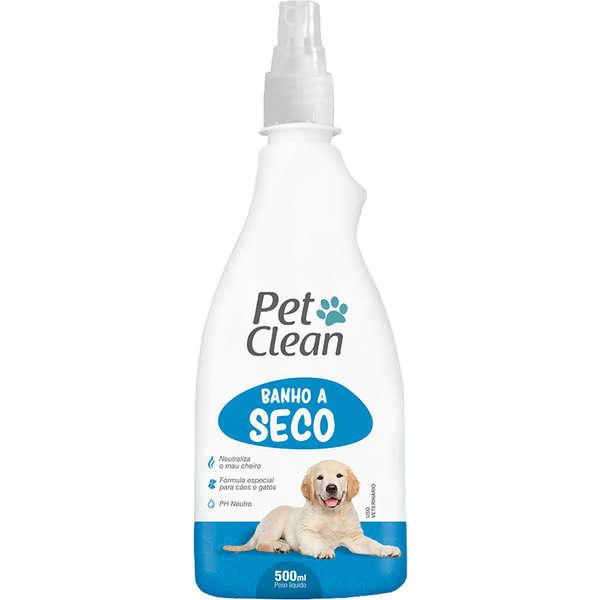 Banho a Seco para Cães e Gatos Pet Clean 500ml