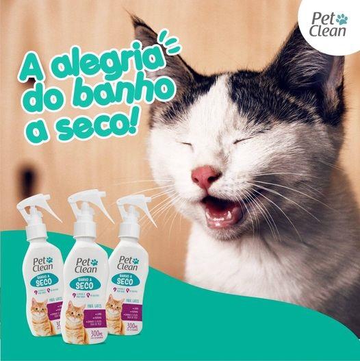 Banho a seco para Gatos Pet Clean 300ml