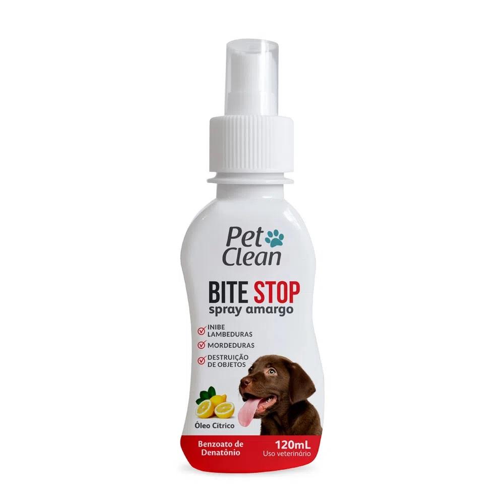 Bite Stop Inibidor de Mordidas com Gosto Amargo Pet Clean