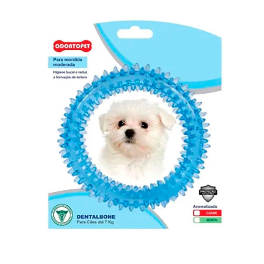 Brinquedo Dentalbone Argola Odontopet 7kg Azul