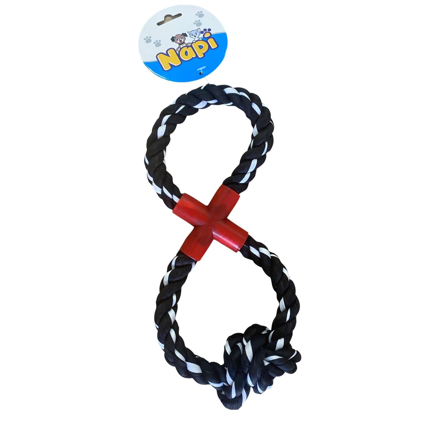 Brinquedo Napi Mordedor Corda X Com Nó para Cães