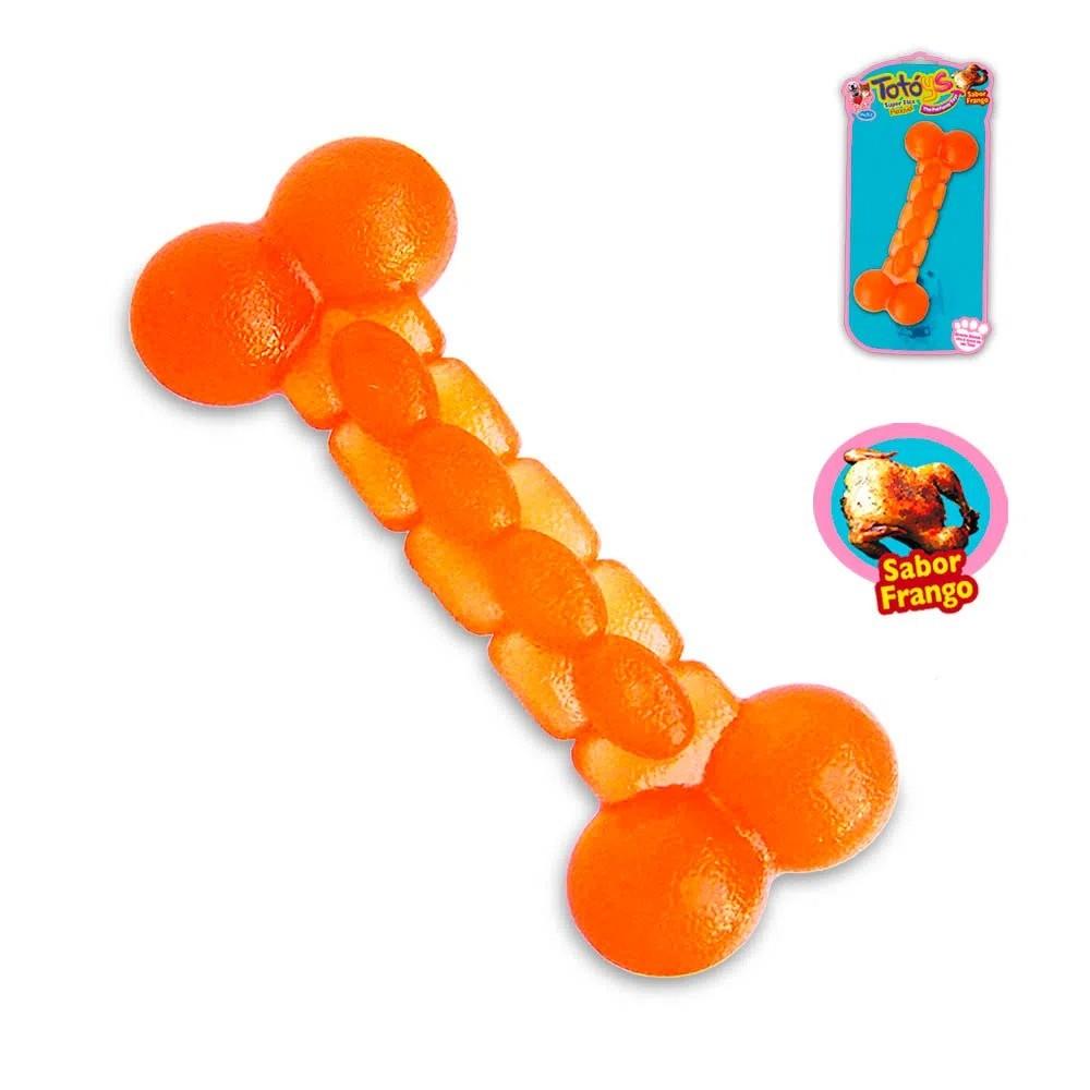 Brinquedo Osso Grande Flex Sabor Frango