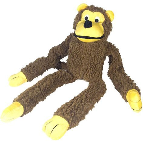 Brinquedo para Cachorro Macaco De Pelúcia Chalesco