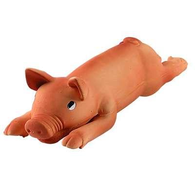 Brinquedo para Cachorro Porco/ Leitão de Borracha