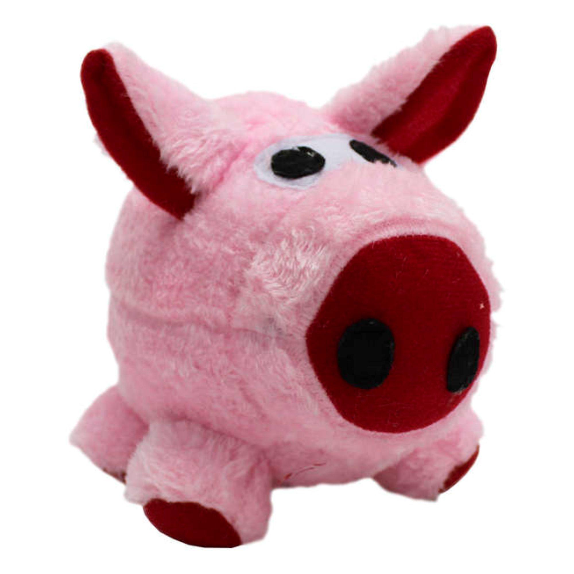 Brinquedo para Cachorro Porquinho de Pelúcia Chalesco
