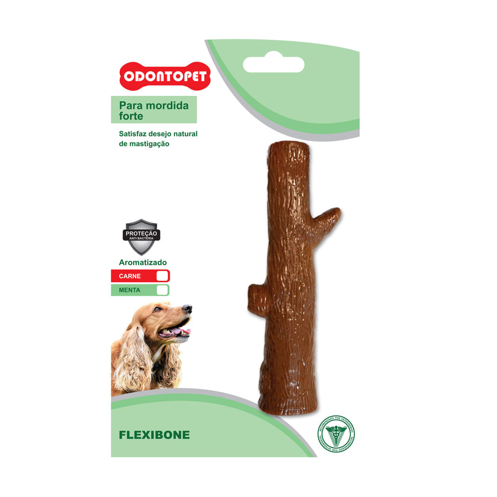 Brinquedo para Cães Odontopet FlexiBone Tronco