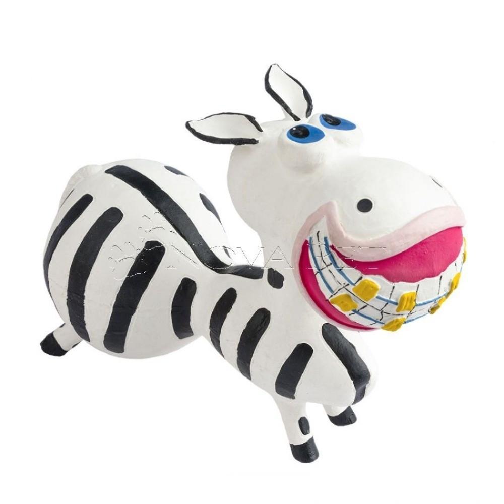 Brinquedo Zebra Latex