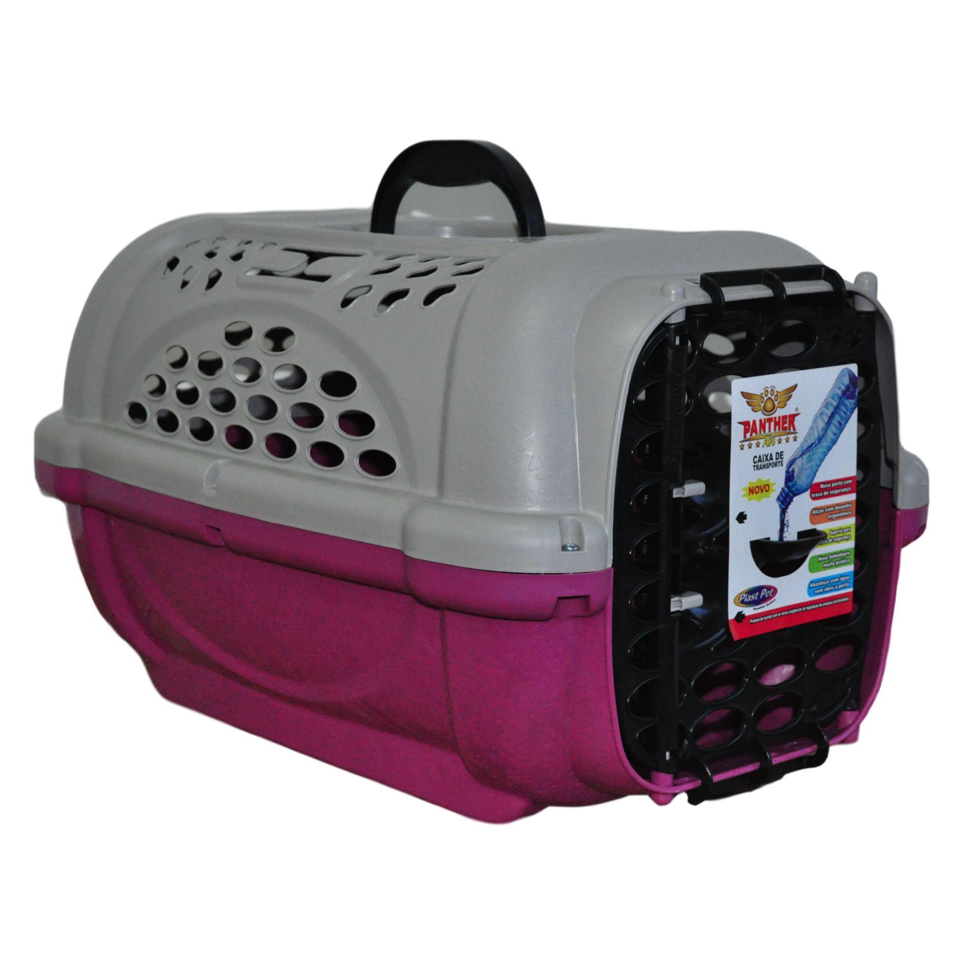 Caixa Transporte Cachorro e Gato Com Ventilação Panther Nº 1