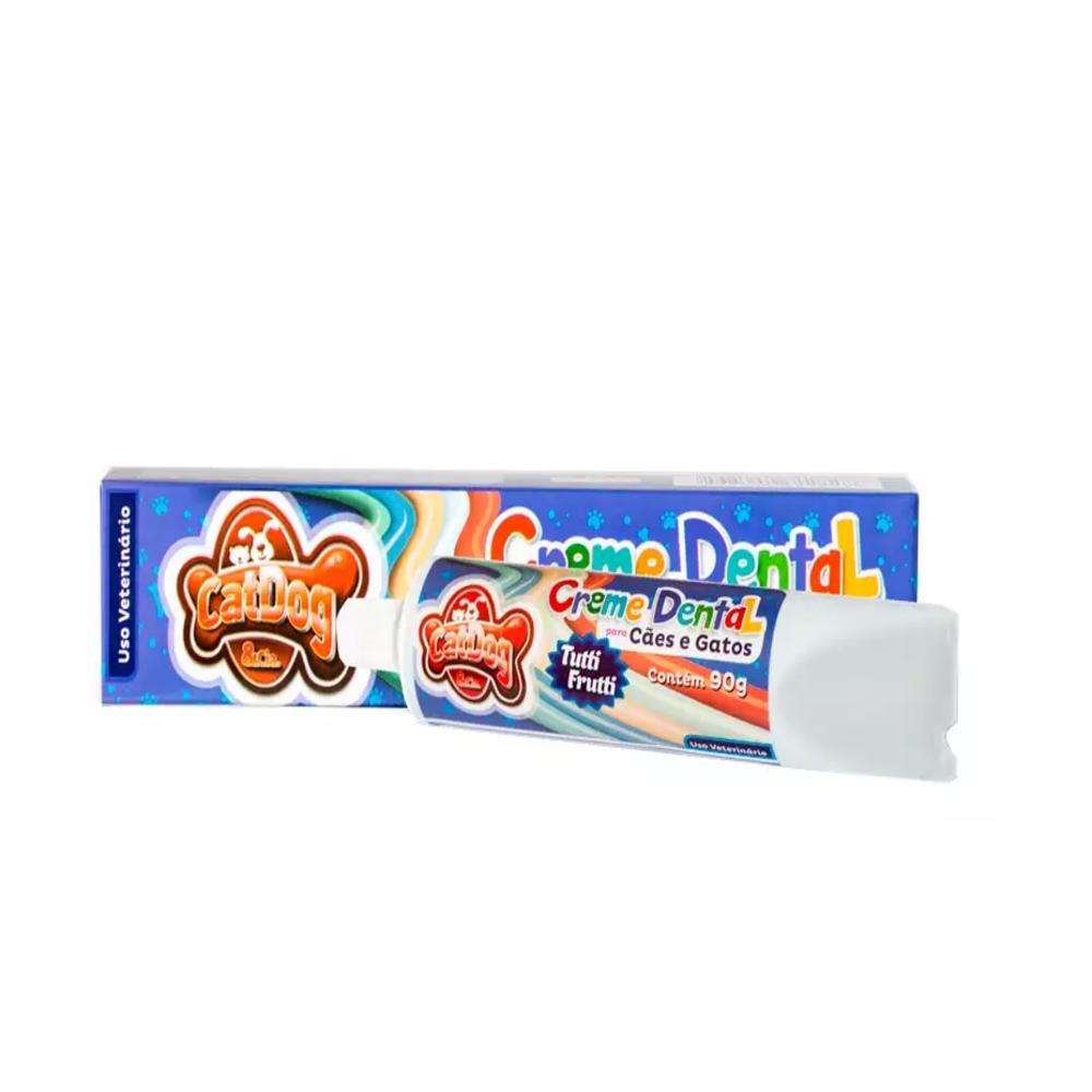 Creme Dental Cat Dog Tutti Frutti 90g