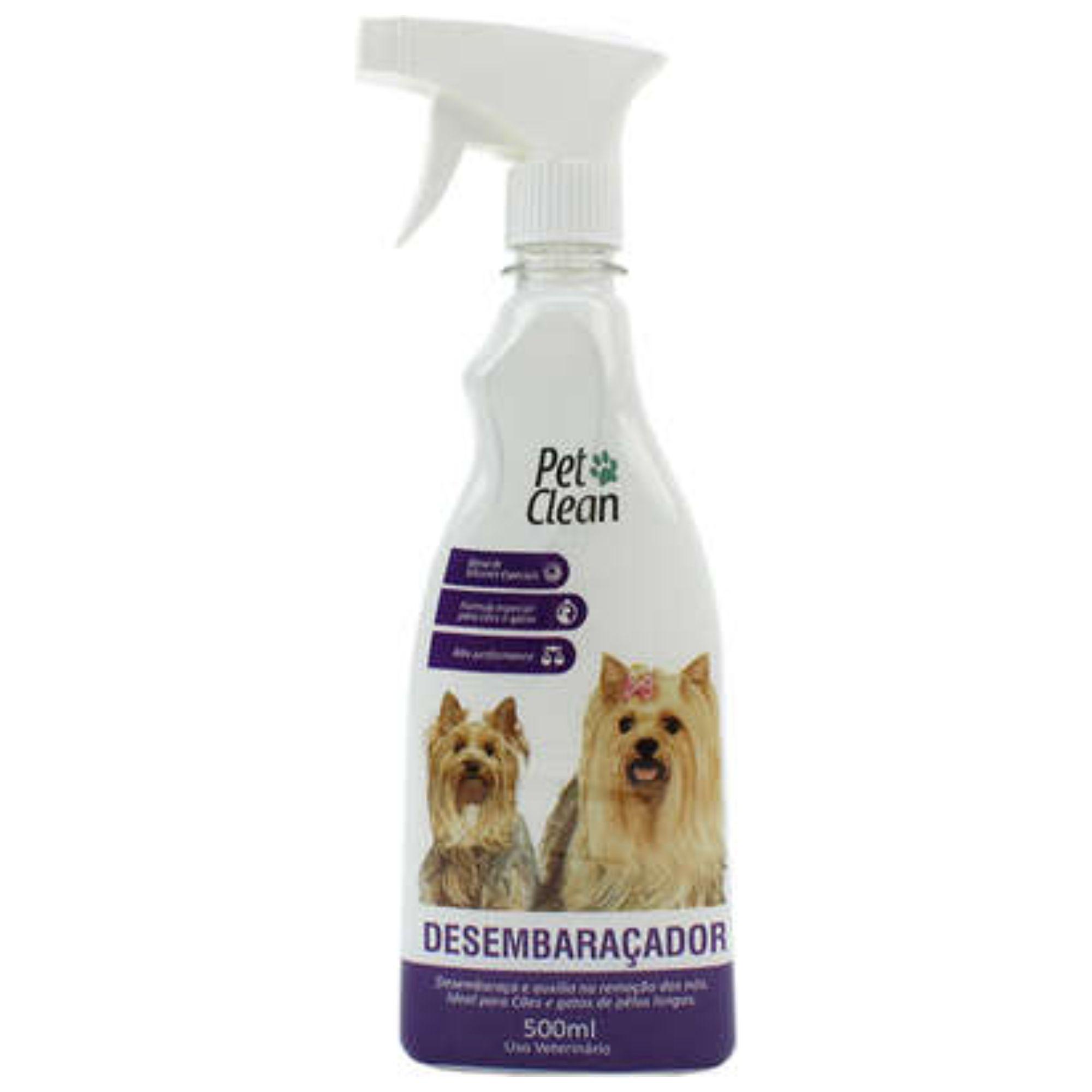 Desembaraçador de Pelos para Cães e Gatos Pet Clean