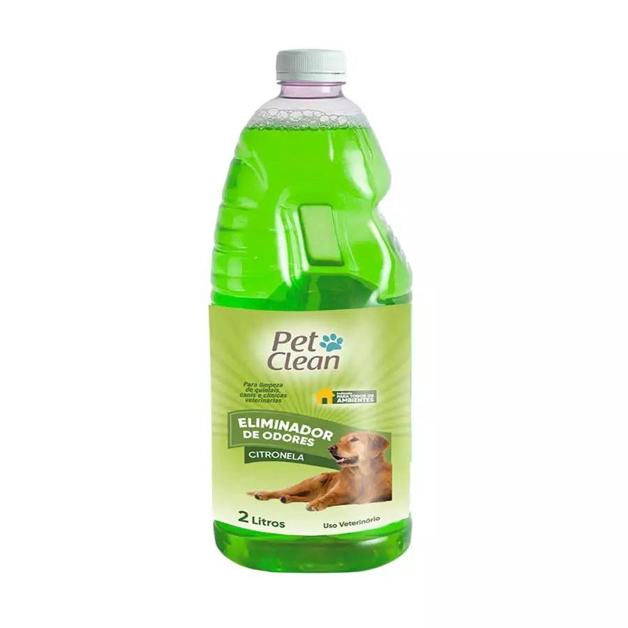 Eliminador de Odor Pet Clean 2L Citronela