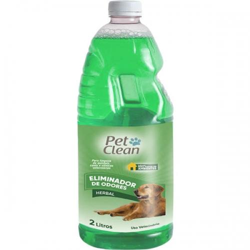 Eliminador de Odor Pet Clean 2L Herbal