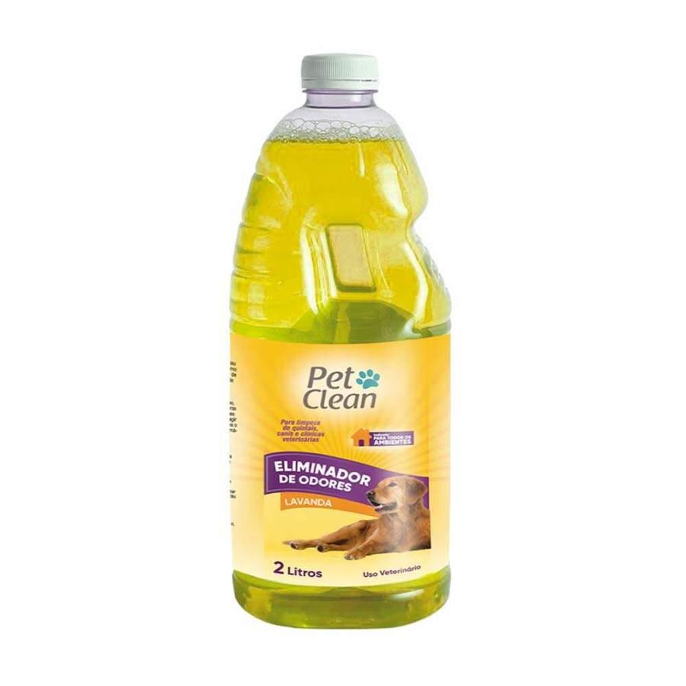 Eliminador de Odor Pet Clean 2L Lavanda