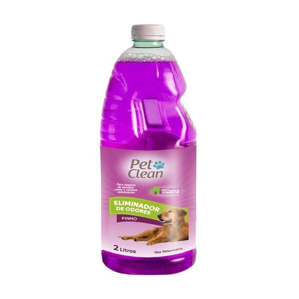 Eliminador de Odor Pet Clean 2L Pinho