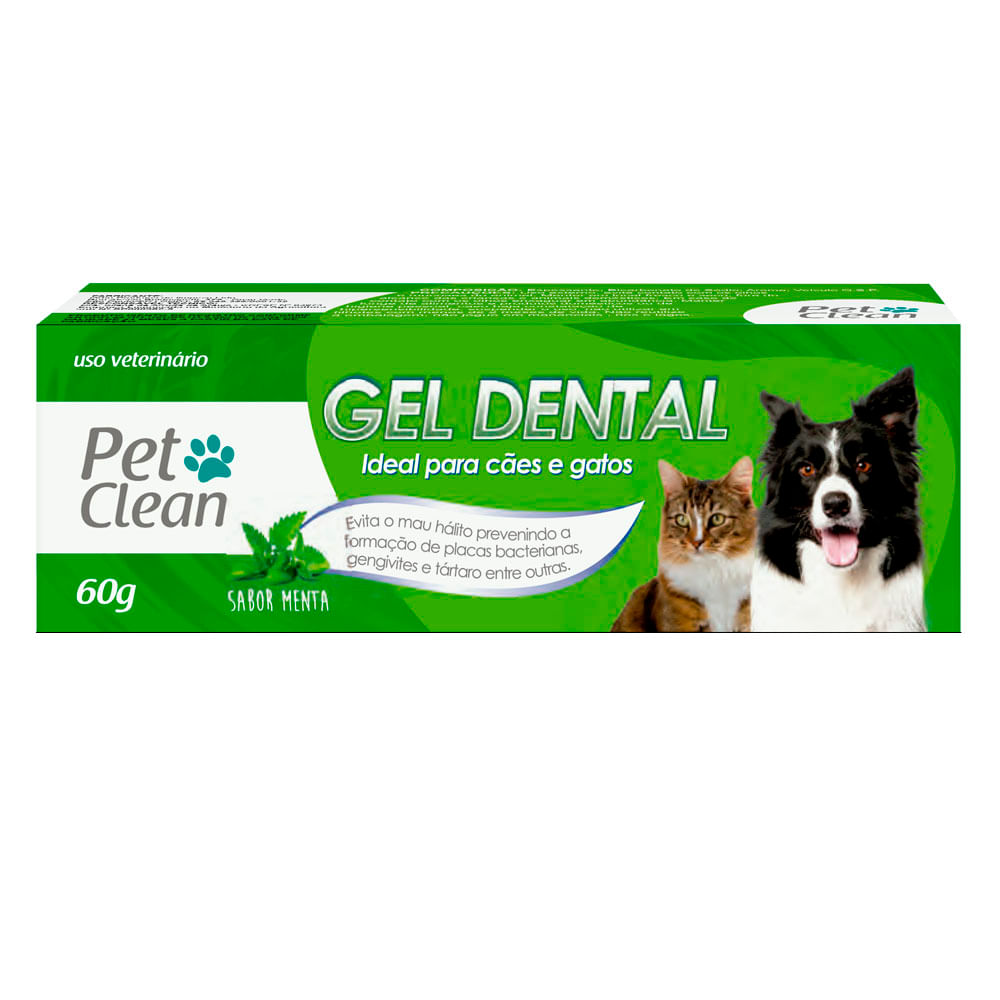 Gel Dental Pet Clean Menta 60g
