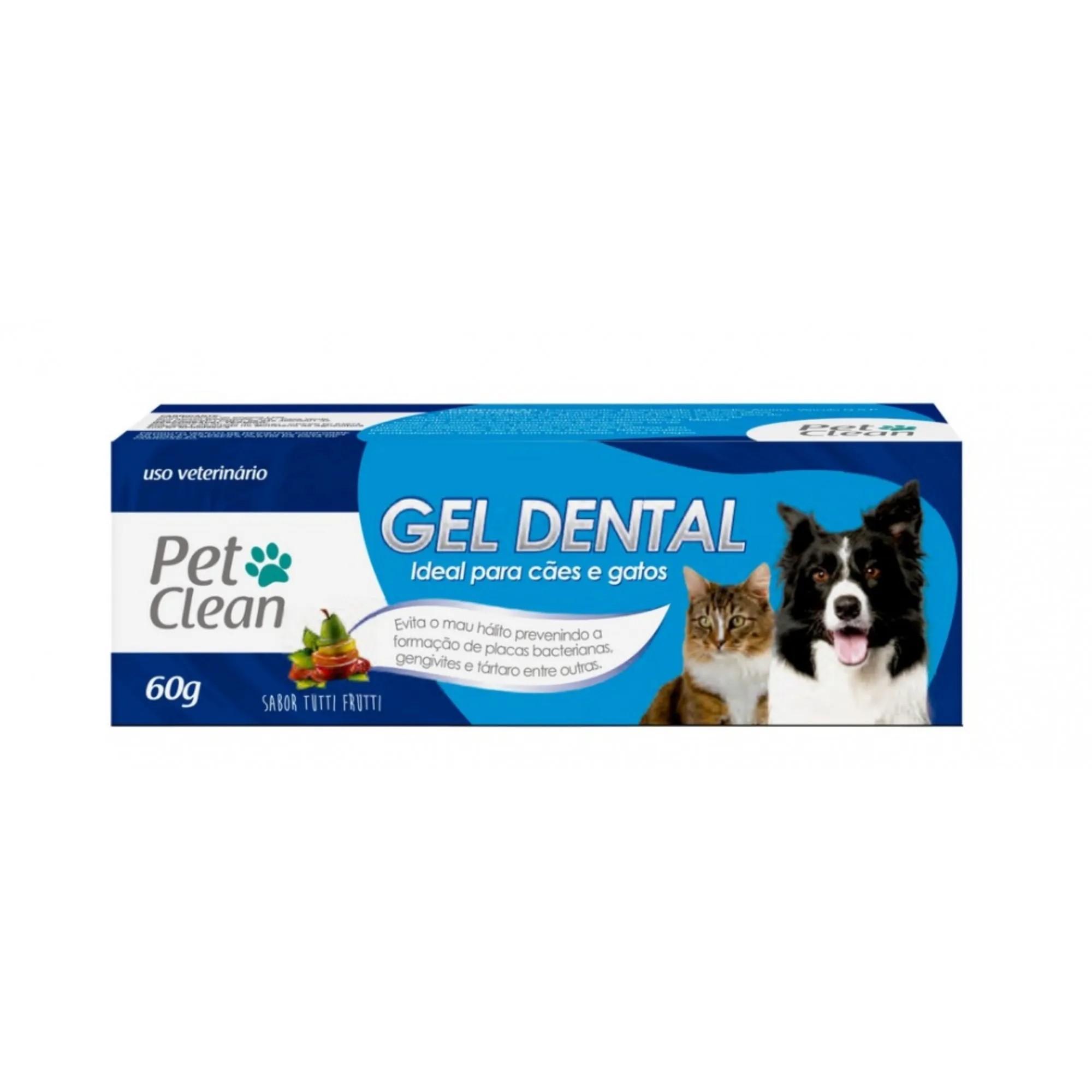 Gel dental Pet Clean Tutti-Frutii 60g