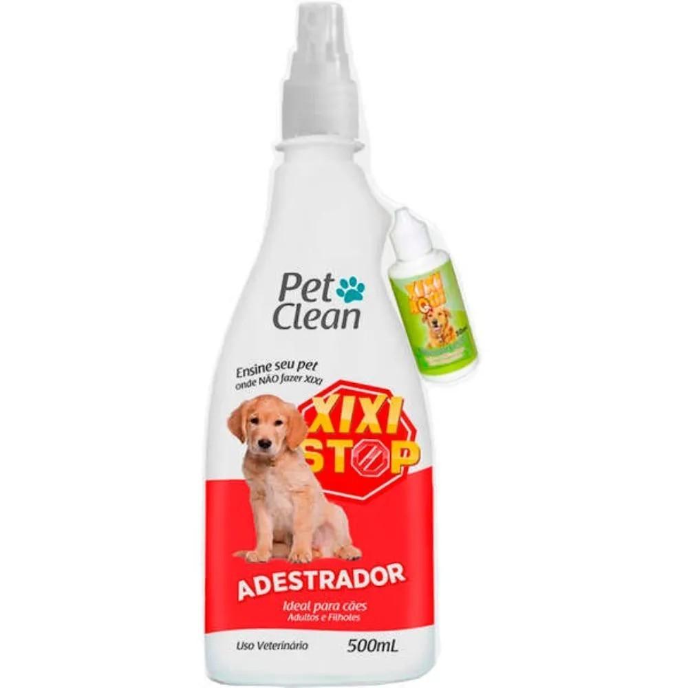 Kit Pet Clean Xixi Stop + Xixi Aqui para Cães