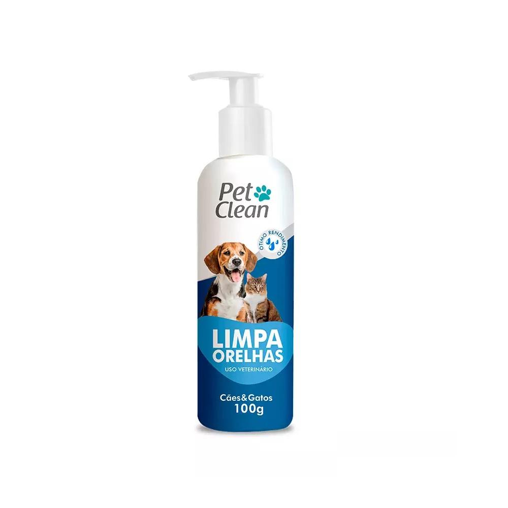 Limpador de Orelha Pet Clean para Cães e Gatos