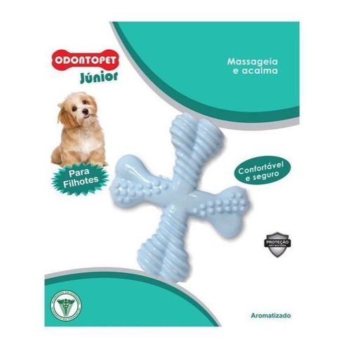 Odontopet Junior Spinner Triangulo para Filhotes Massageia Acalma
