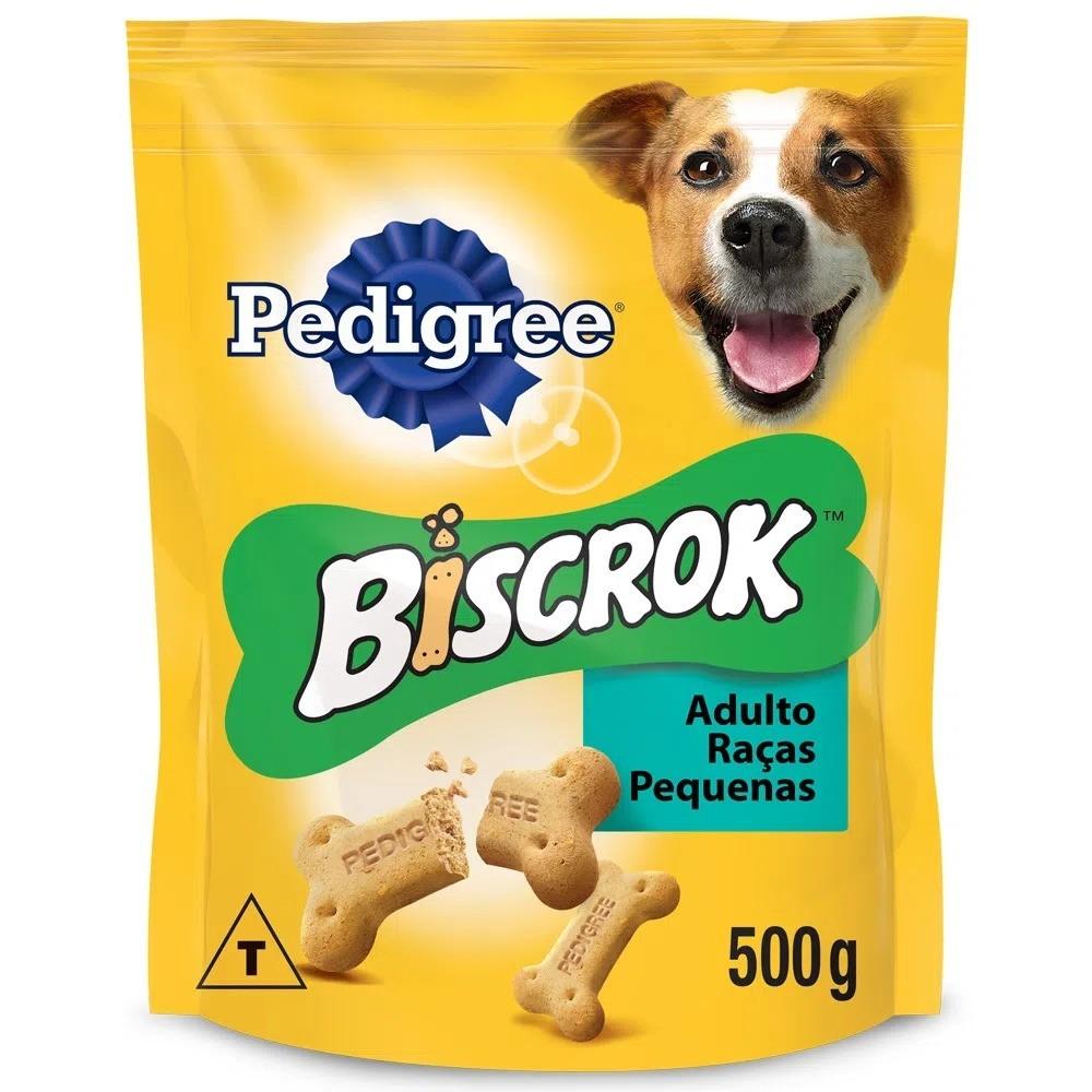 Biscrok Pedigree Raças Pequenas Adulto 500g