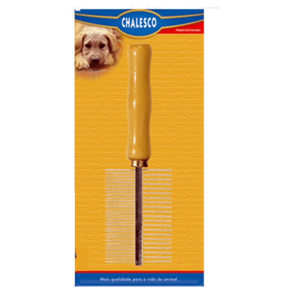 Pente Duplo Chalesco para Cachorro e Gato