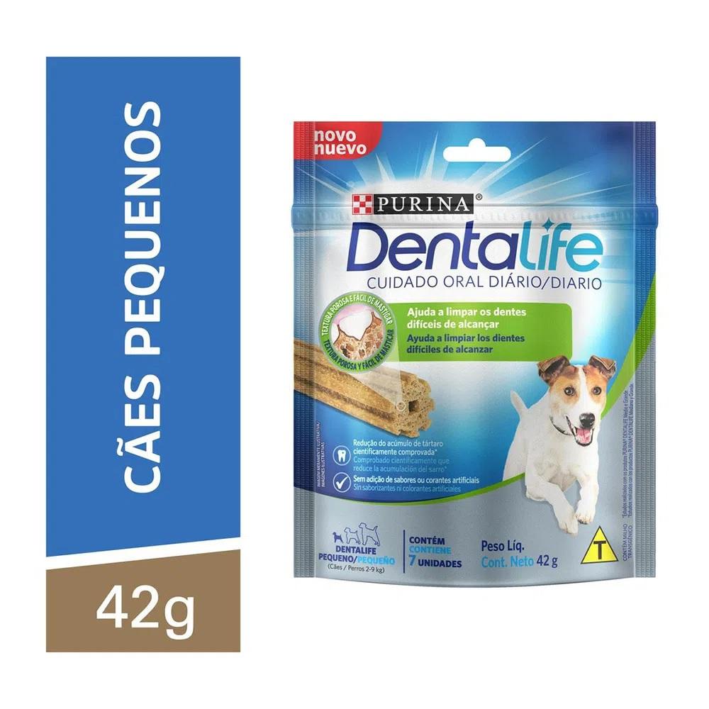 Petisco DentaLife Cães Adultos Pequenos