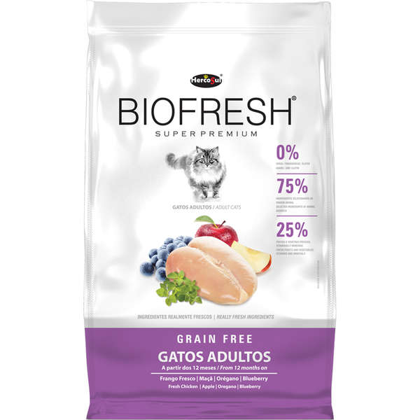 Ração Biofresh para Gatos Adultos 1,5 kg