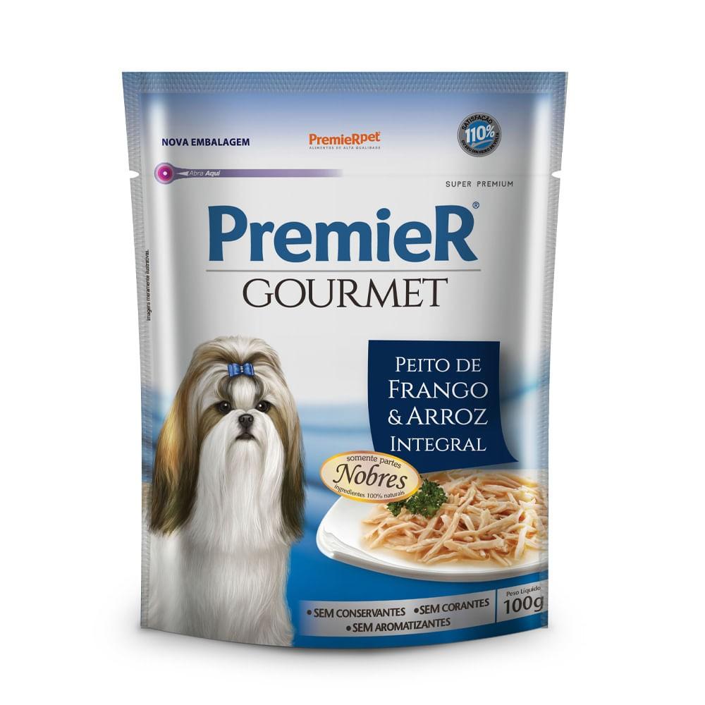 Ração Premier Gourmet Sachê Frango para Cães Adultos
