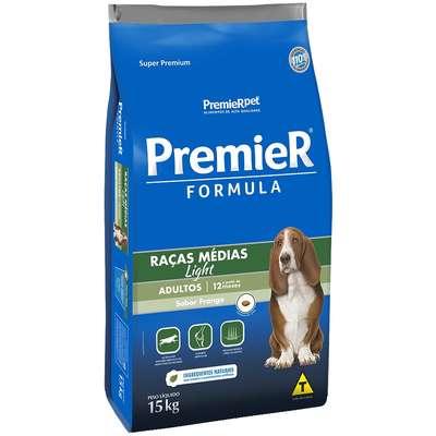Ração Premier Pet Formula Cães Adultos Light