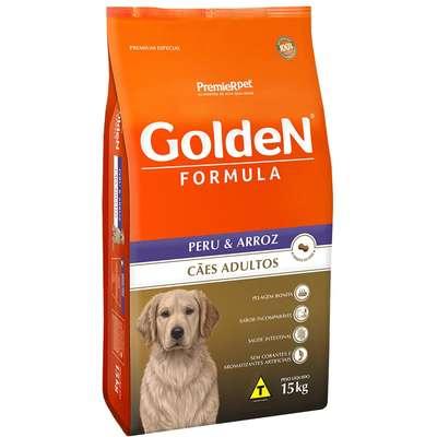 Ração Premier Pet Golden Formula Peru & Arroz para Cães Adultos 15kg