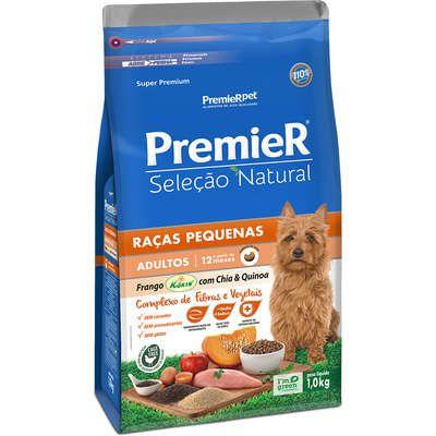 Ração Premier Pet Seleção Natural Frango Korin com Chia & Quinoa Cães Adultos Raças Pequenas