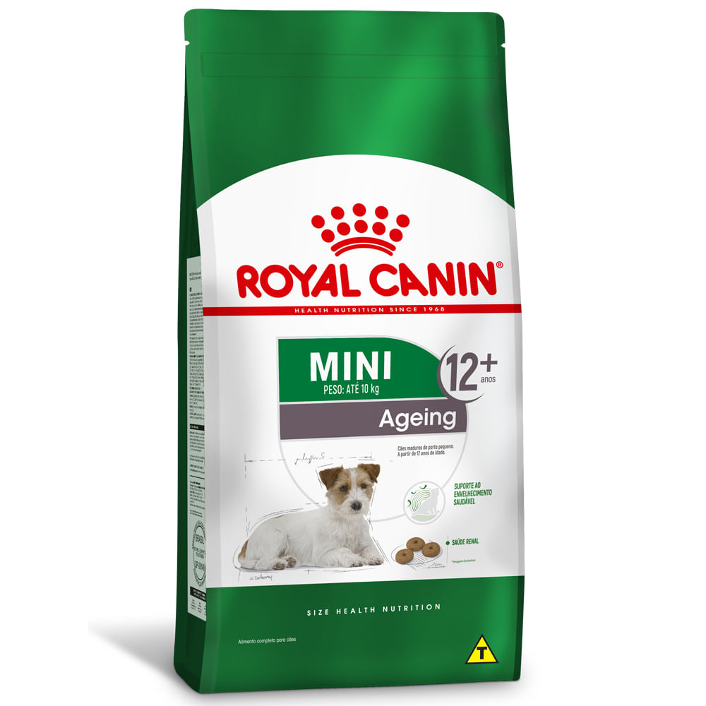 Ração Royal Canin Cães Mini Ageing 12+