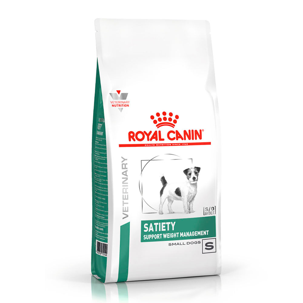 Ração Royal Canin Canine Veterinary Diet Satiety Small Dog para Cães Adultos
