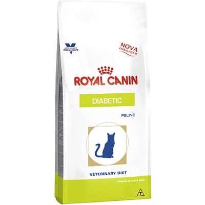 Ração Royal Canin Feline Veterinary Diet Diabetic para Gatos Adultos com Diabetes 1,5kg