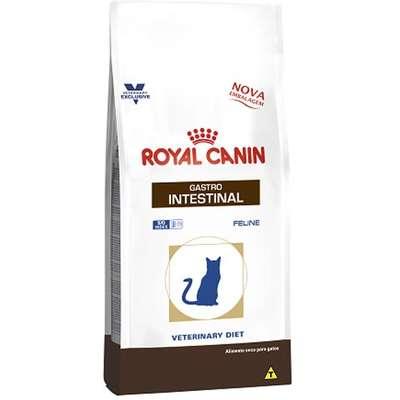 Ração Royal Canin Feline Veterinary Diet Gastro Intestinal para Gatos com Doenças Intestinais 1,5kg